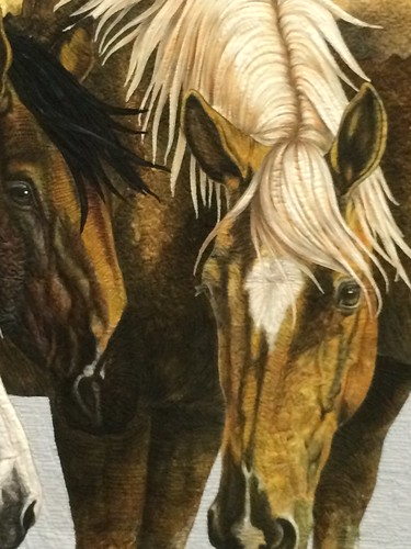 "close up of ""One Fine Day"" by Laurie Britt of Bakersfield, CA"
