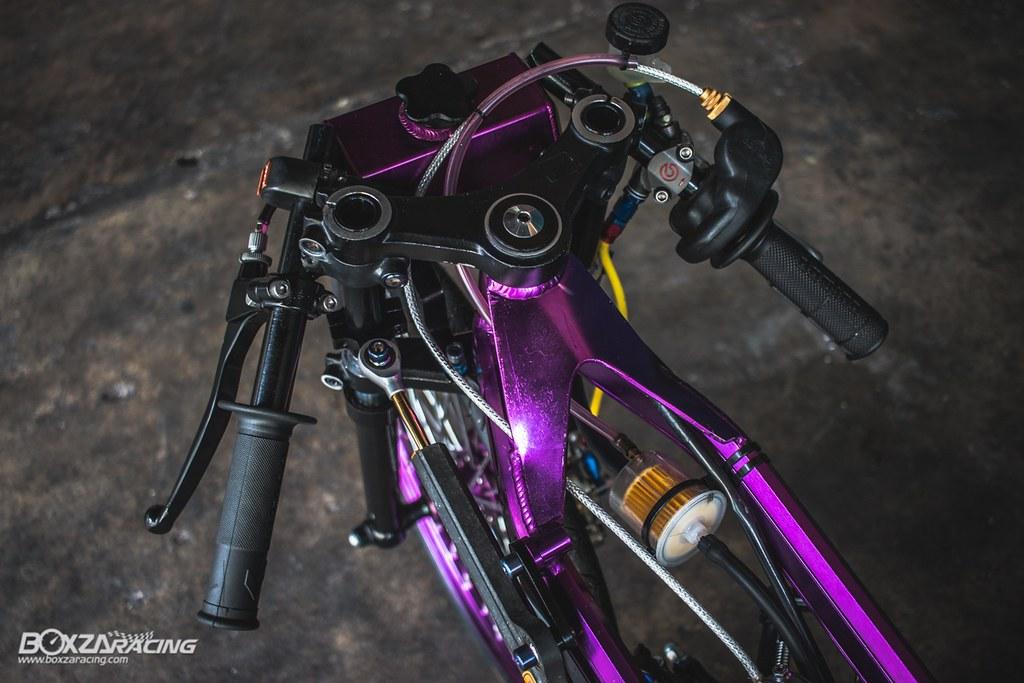 Wave Drag độ màu tím khủng khiếp với Piston 78mm (Thái) - 9