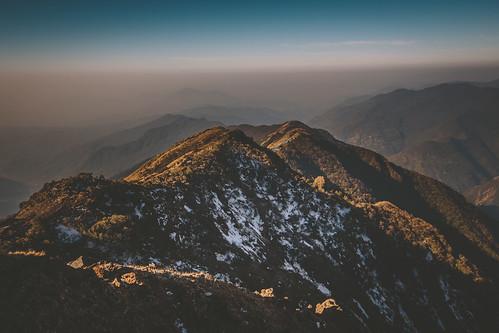 nepal rot himalaya mardi annapurna himal