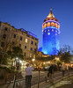 Galata tower in Istanbul,Turkey