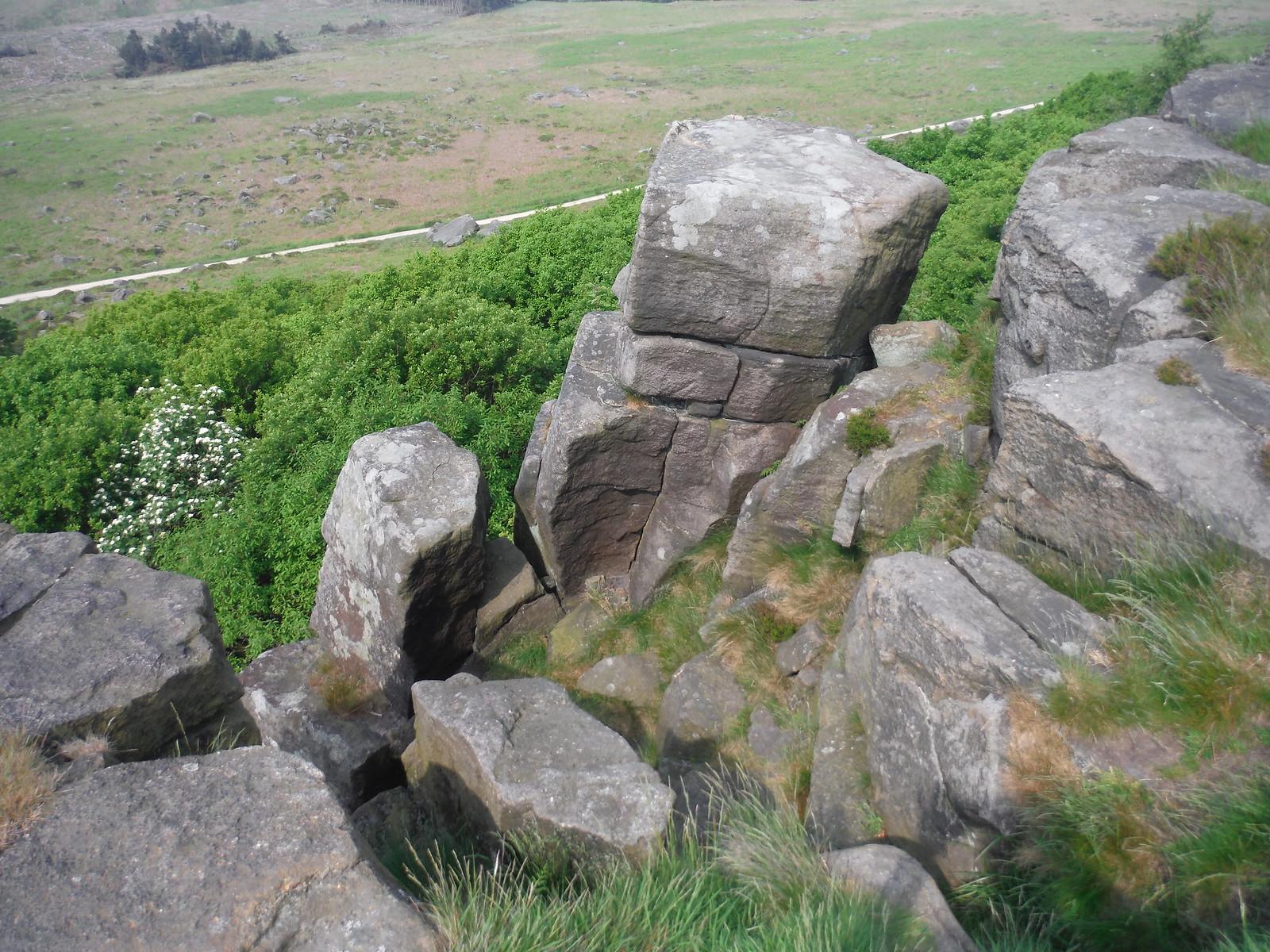 Rocks, Burbage Rocks SWC Walk 266 - Sheffield to Bamford (via Burbage Rocks and Stanage Edge) or to Moscar Lodge