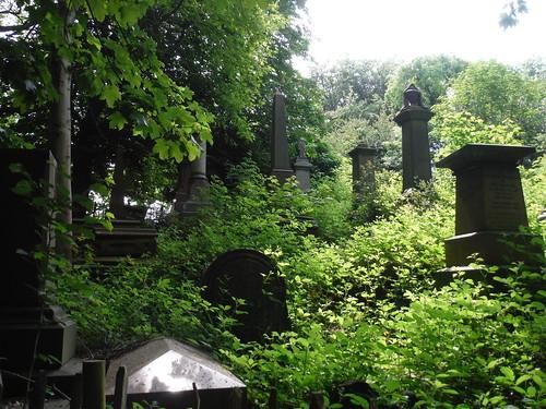 Sheffield General Cemetery, Graves