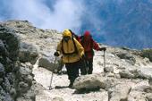 Austieg zum Gipfel des Damavand, 5671 m. Foto: Sigi Hupfauer.