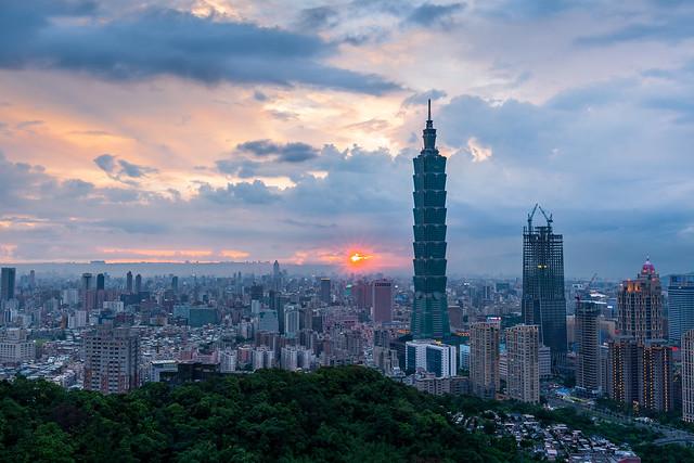 雨後夕陽 - Sunset after the rain