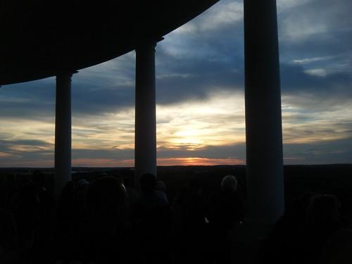 sunset sky summer maine