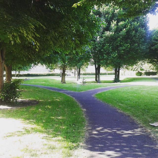 #caminos en parques de #Dublin | #paths at Dublin parks. #walk #park #parque #ciudad #city #Irlanda #ireland #paseo #nature #naturaleza #green