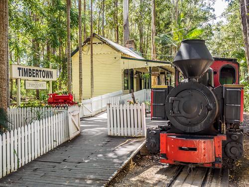 timbertown wauchope steam engine australia