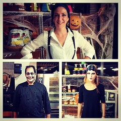 ¿Preparados para una deliciosa noche de terror? Hoy os esperamos con muchas cosas ricas en esta noche de Halloween! ^.^