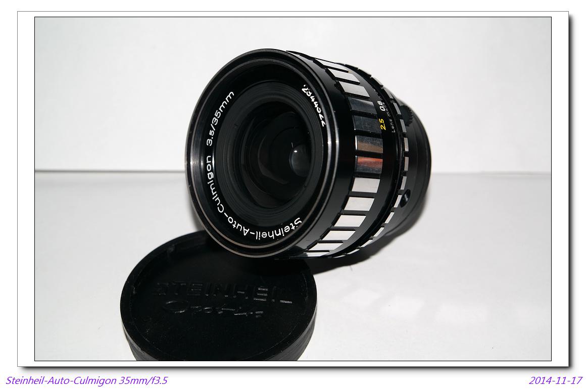 Steinheil-Auto-Culmigon 35mm/f3.5 (M42)~