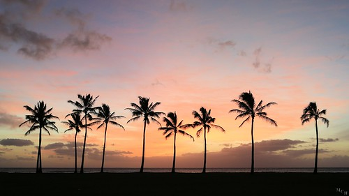 sunset landscape hawaii photosbymch
