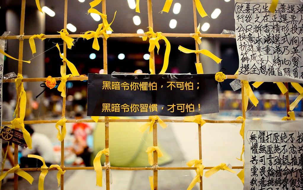 Umbrella movement - 0855