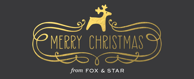 merry christmas from fox and star
