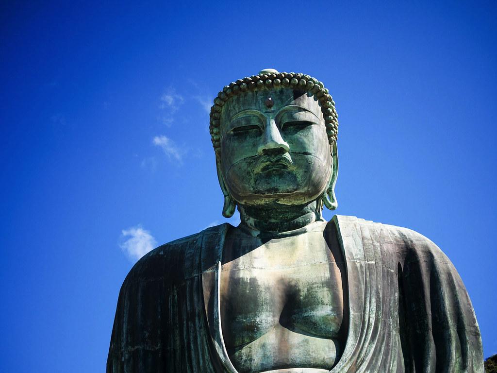 P一般的な大仏の例、鎌倉大仏