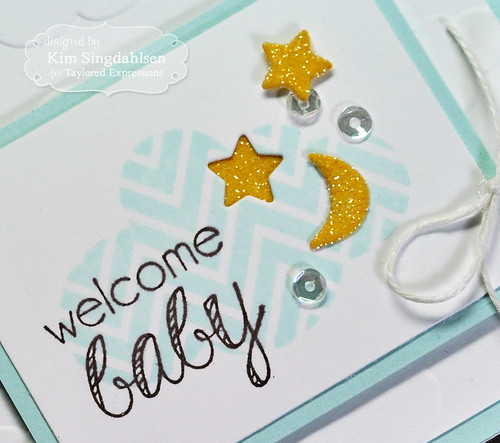 Welcome Baby Boy Close-Up by Kim Singdahlsen