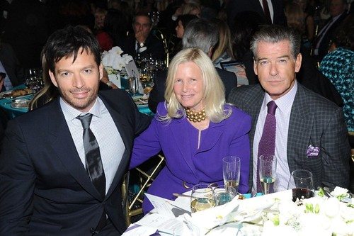 Harry Connick Jr., Dr. ?, Pierce Brosnan.==.Ovarian Cancer Research Fund's 20th Anniversary Legends Gala, Hosted by Harry Connick Jr.==.The Pierre Hotel, NY==.November 5, 2014==.©Patrick McMullan==.Photo - Owen Hoffmann/patrickmcmullan.com==.==
