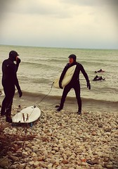 New Year's Day surfing in Toronto