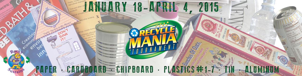 Recyclmania banner flat