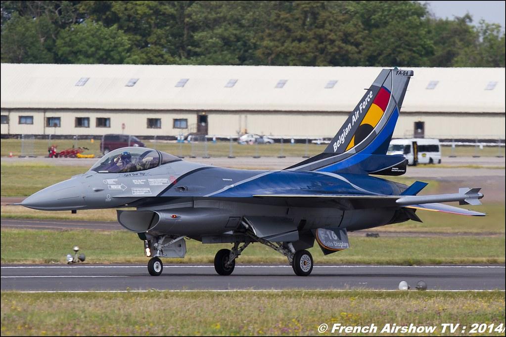 F-16 Belge Solo display 2014, Royal International Air Tattoo 2014