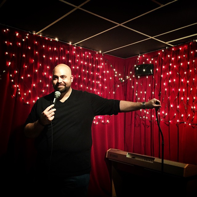 #comedy #standup #fat #guy #on #a #little #stage