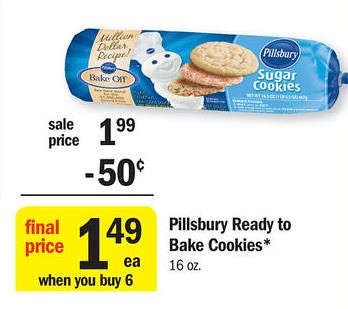 High Value Pillsbury Printable Coupons 0 74 Pillsbury Cookie Dough