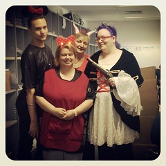 Halloween at work.