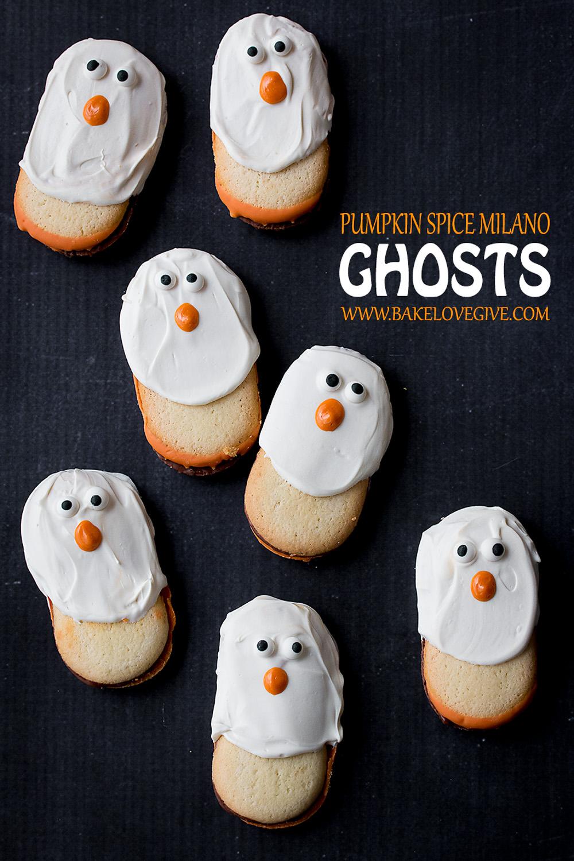 Pumpkin Spice Milano Ghosts