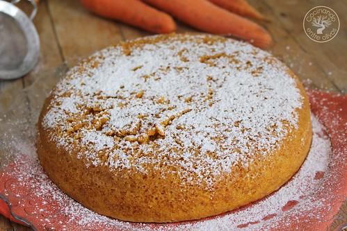 Bizcocho de zanahoria en microondas www.cocinandoentreolivos.com (14)