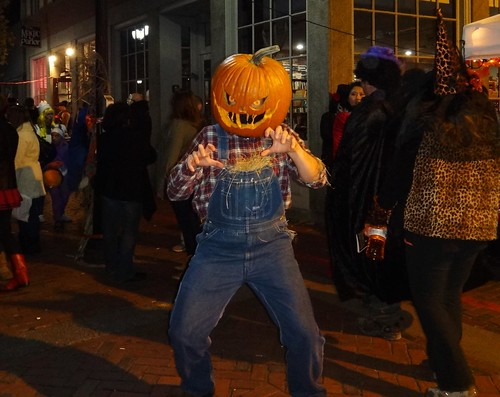 Salem Halloween 2014 Pumpkinhead