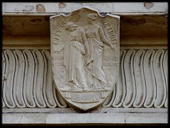 Architectural Sculpture: Seal of the City of Detroit, Michigan