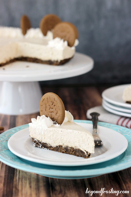 No-Bake Gingerbread Cheesecake