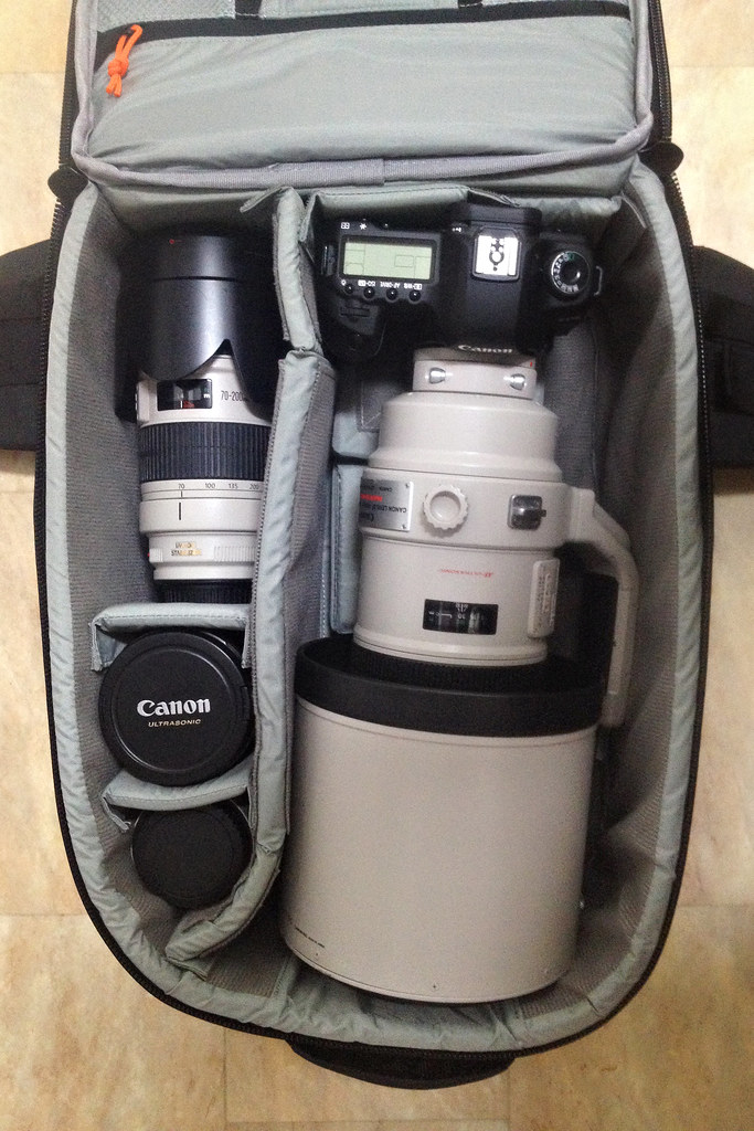 Image: Lowepro Vertex 200 AW Packed for Africa