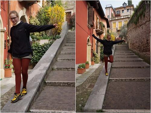 Walking around Verona's hills