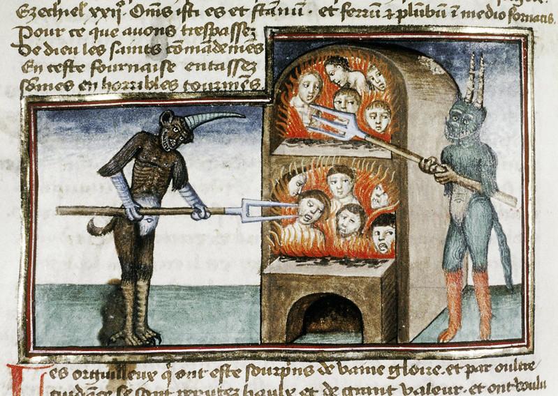 Demons From The Livre de la vigne nostre Seigneur, 1450 - 70 (20)