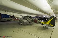 N43JE - 15344 - Nakajima Ki-43-IIIa Hayabusa Replica - Tillamook Air Museum - Tillamook, Oregon - 131025 - Steven Gray - IMG_8039