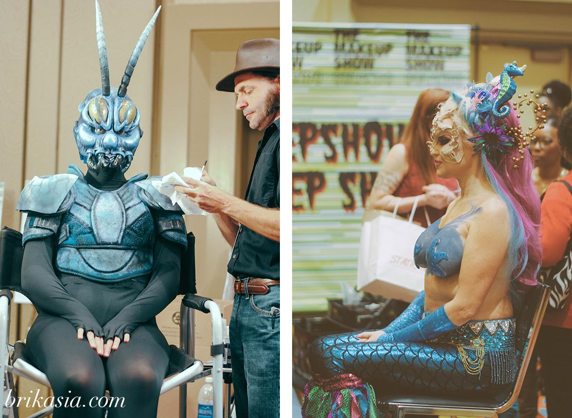 The Makeup Show Orlando 2014 Recap, special effects makeup