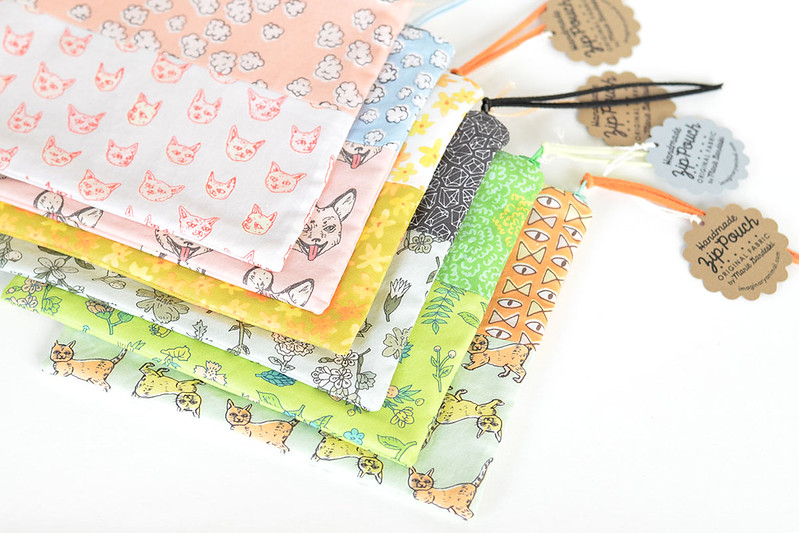 http://www.imaginaryanimal.com/collections/pouches
