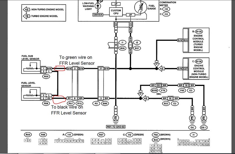 Subaru Engine Wiring Harness Diagram Besides Alternator Wiring ...