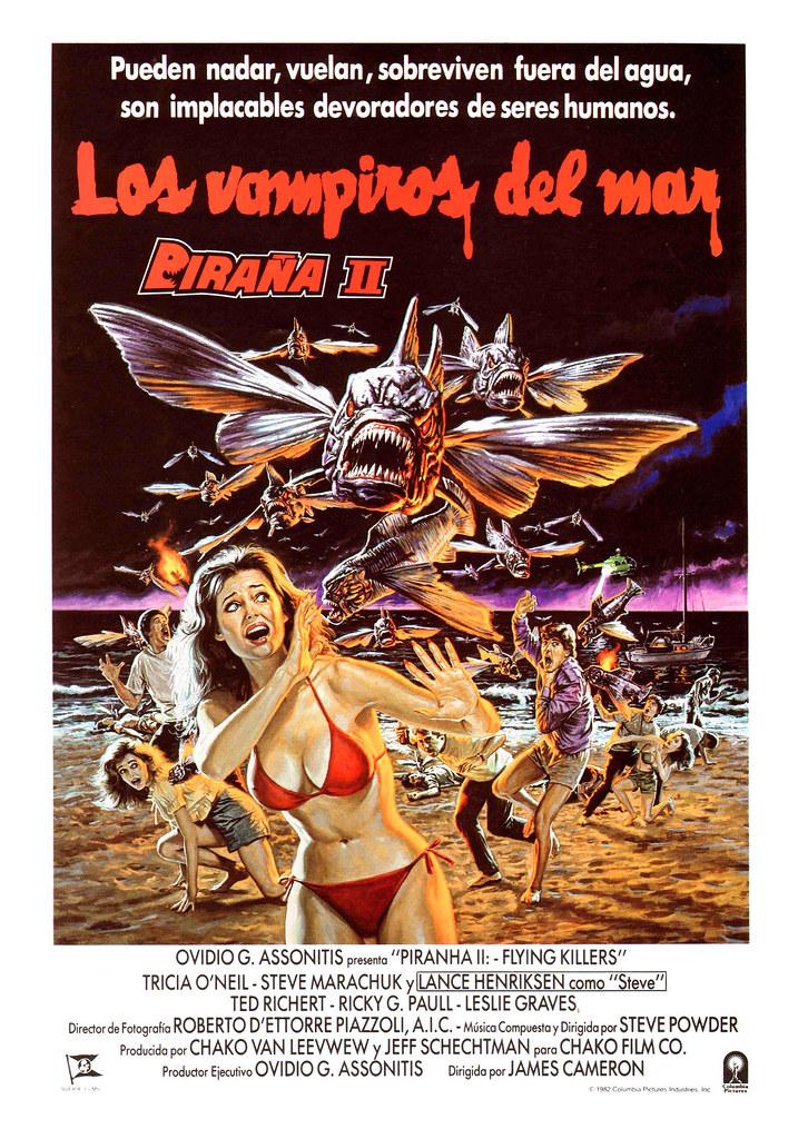 Bob Larkin - Piranha II, The Spawning (1981)