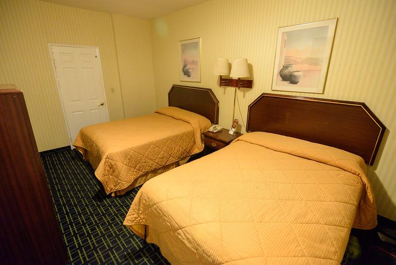 【兩床房】還算乾淨,沒特別的異味