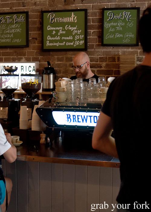 Kees van der Westen espresso machine at Brewtown Newtown