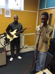 The Fish Police and Mary Epworth perform live on The deXter Bentley Hello GoodBye Show on Resonance FM on Saturday 20th December 2014.