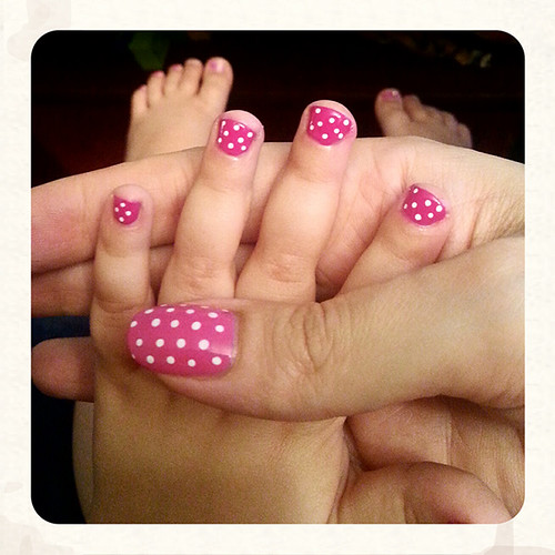 Matching nails :D