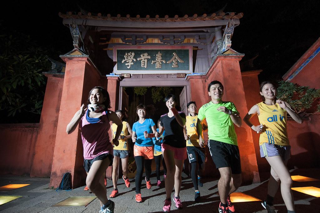 來台南順道「夜跑」吧!台灣最令人心醉的夜跑路線,穿梭充滿驚喜和感情的百年巷弄