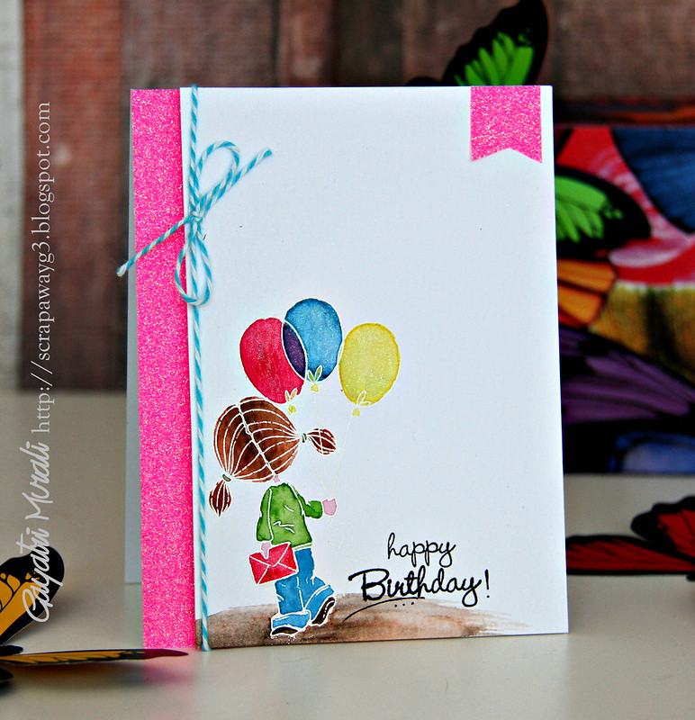 Pink Girly card2