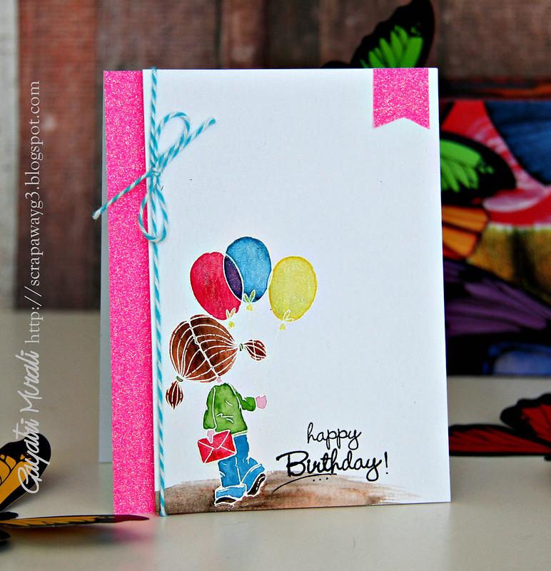 Pink Girly card2