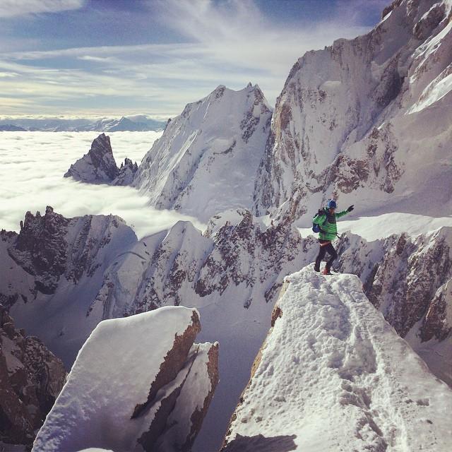 O Kilian φωτογραφίζεται από τον Seb Montaz σε μία από τις τελευταίες προπονήσεις του πριν την ανάβαση στο Aconcagua