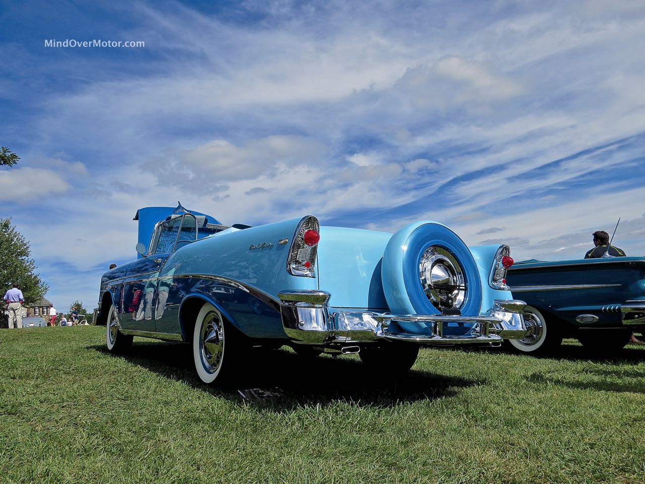 1956 Chevrolet Bel Air Convertible Rear