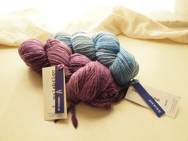 Yarn for nieceling gifts!