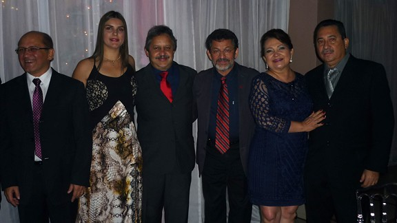 Carlos Martins, Glaúcia Gomes e Everaldo Martins, Paulo Rocha, Maria do Carmo e Celso Lima