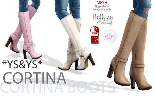 *YS&YS* Cortina Boots